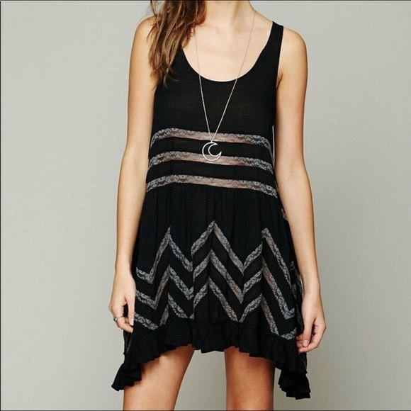 Free People Dresses & Skirts - Intimately Free People Trapeze Mini Slip Dress